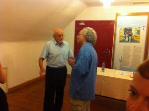 Craig Harris talks with Pavel Stransky, the only surviving original writer of the cabaret.