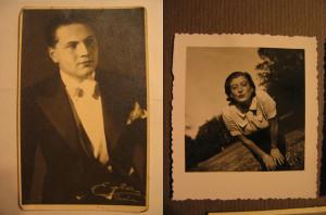 Felix Porges and Elly Bernstein-Porges, original cabaret artists.