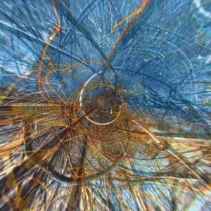 Elijah's whirlwind by Candy Kuehn