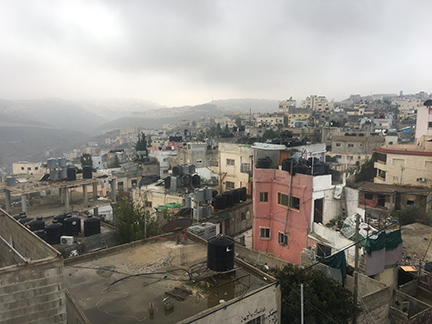 Bethlehem from the rooftop